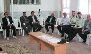 اولین جلسه شورای تربیت بدنی در شهر کیلان سال ۹۲