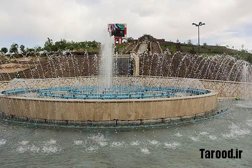 بهره برداری از آبشار سنگی و آبنمای پارک الغدیر آبسرد