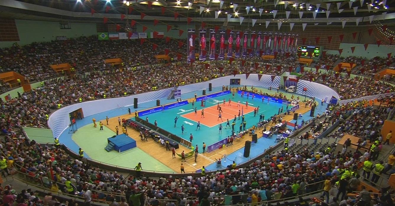 عکسی از شبکه IRIB HD Test در هنگام پخش والیبال ایران-برزیل (برای مشاهده کیفیت واقعی، روی عکس کلیک کنید)