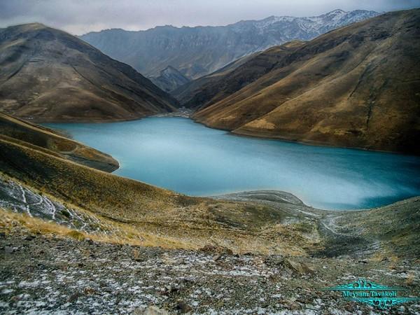 تصاویری زیبا از طبیعت آبی دماوند