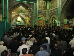 تصاویر/مراسم شب قدر در مسجد جامع دماوند