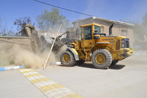 تخریب ۵۵ بنا در بافت فرسوده آبسرد