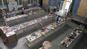 بزرگترین نمایشگاه کتاب دماوند در سال فرهنگ و ماه بندگی
