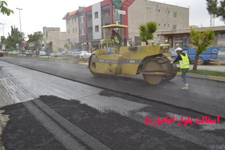 تصاویری از پروژه های عمرانی شهر آبسرد