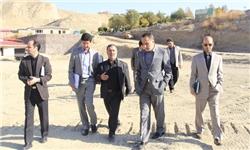 بازدید مدیر کل دفتر فنی استانداری تهران از پروژه های عمرانی کیلان