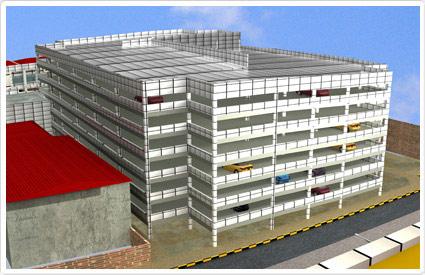 احداث پارکینگ طبقاتی در رودهن