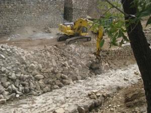 آزادسازی ۱۵۰ مترمربع از بستر رودخانه هزاردشت دماوند