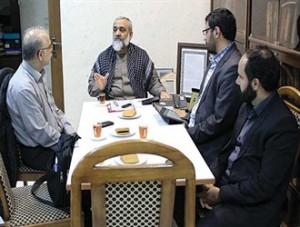 واکنش های محمد رضا نقدی به سوالات صریح یک خبرنگار