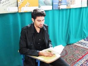 گفتگو تارود با محمد تافته، حافظ دماوندی پانزده جزء قرآن