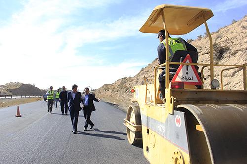 بازدید فرماندار دماوند از پروژه های عمرانی راه و شهرسازی