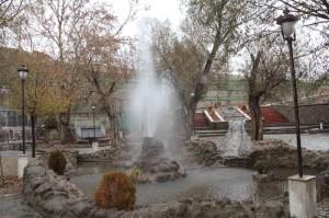 بهسازی سایت گردشگری چشمه اعلاء دماوند