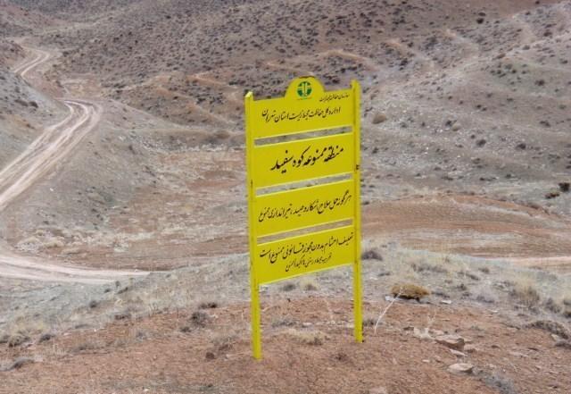 احیای زیستگاه آهو در منطقه کوه سفید دماوند