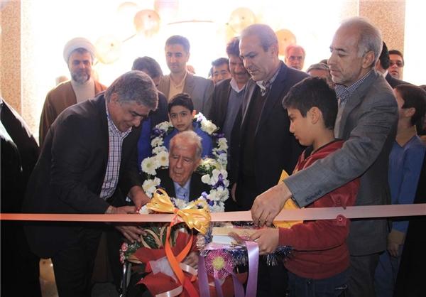 افتتاح مدرسه خیرساز امام رضا (ع) در روستای مهرآباد