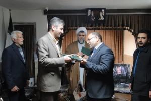 رضا طاهرخانی رییس ستاد عتبات عالیات رودهن شد