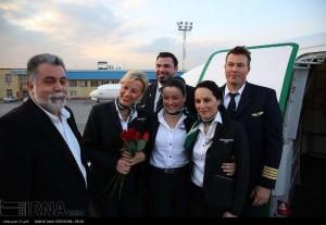 کادر پروازی آلمان با کشف حجاب، قانون ایران را در شهر زیارتی مشهد زیر پا گذاشت