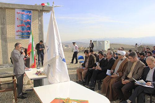 افتتاح مخزن ۲ هزار مترمکعبی شهید چمران رودهن
