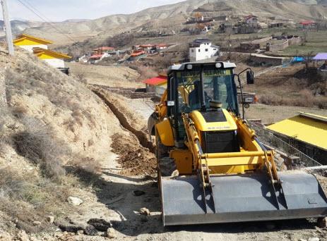 اصلاح و بازسازی شبکه آبرسانی در زیارت کیلان