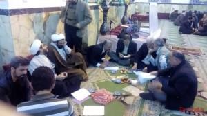 گزارش تصویری/ انتخابات دموکراتیک مسجد الرضا(ع)