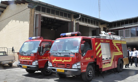آمادگی آتش نشانی دماوند در شب چهارشنبه آخر سال