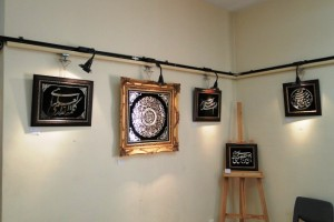 برگزاری نمایشگاه صنایع دستی و هنرهای تجسمی در رودهن