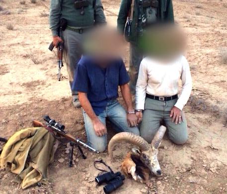 دستگیری شکارچیان متخلف در کوه سفید و تیزآب دماوند