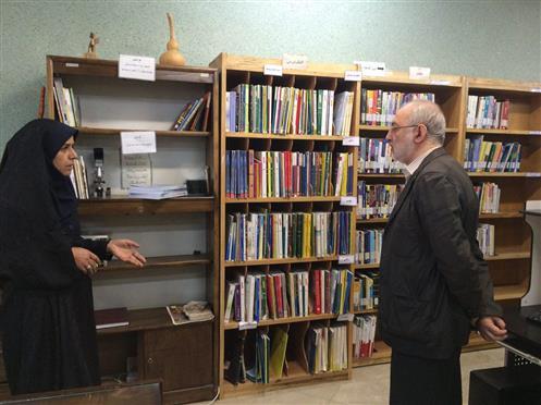 بازدید سرزده «مختارپور» از کتابخانههای عمومی دماوند