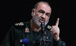 سردار سلامی: جواب درخواست بازدید از مراکز نظامی ایران را با «سُرب داغ» خواهیم داد/ صدها هزار موشک در اختیار حزبالله و مقاومت فلسطین است