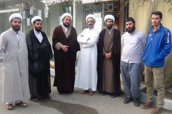 بازدید معاون تهذیب تهران از حوزه علمیه سربندان دماوند