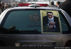 تشییع باشکوه پیکر «علی آهی» در دارالمؤمنین تهران+تصاویر