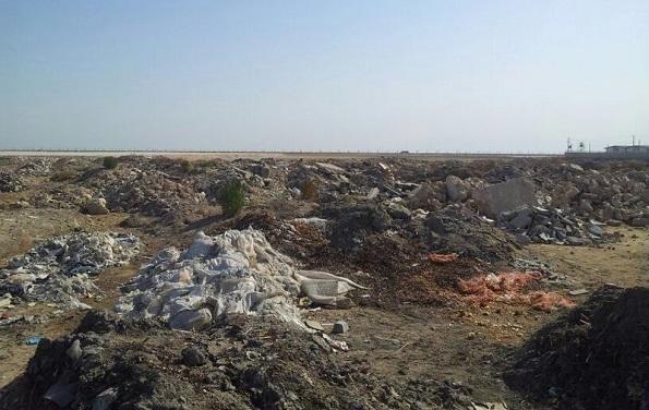 ساماندهی و رفع آلودگی زیست محیطی دفن زباله در گندک رودهن