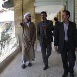 دیدار شهردار از حوزه علمیه امام صادق(ع) دماوند