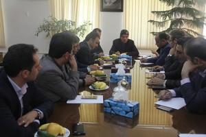 جلسه تعیین تکلیف اراضی متعلق به مسکن و شهرسازی شهر دماوند برگزار شد