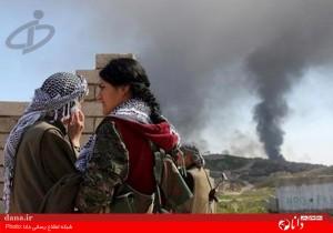 گزارش تصویری/حضور زنان کرد در جنگ با داعش