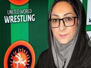 بانوان می توانند با حجاب اسلامی کشتی بگیرند