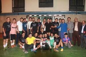 برگزاری اختتامیه مسابقات فوتسال جام رمضان شهر دماوند