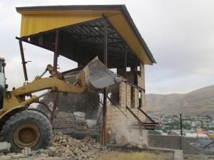 آزادسازی ۱۰ هکتاراز اراضی ملی سادات محله دماوند