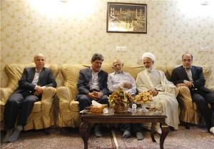 دیدار معاون پارلمانی رئیسجمهور با خانواده شهیدان صدیفی در دماوند