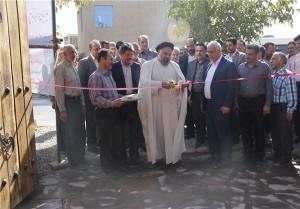 بهرهبرداری از پروژههای عمرانی و خدماتی شهر آبسرد