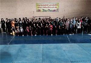 مسابقات قهرمانی کیکبوکسینگ بانوان کشور به میزبانی آبسرد