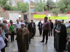 افتتاحیه مسجد امام حسن مجتبی (ع) محله چالکاء دماوند
