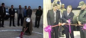 کلنگزنی پروژه استخر و سالن ورزشی ۹ دی در دماوند