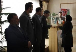 مراسم اهداء ۱۰ سند مالکیت به مالکان شهر کیلان