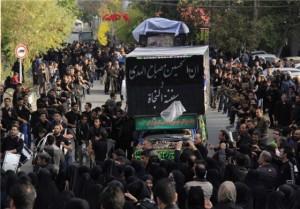 آیین عزاداری تاسوعای حسینی در شهر کیلان/تصاویر