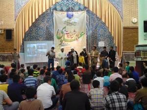 برگزاری جشن غدیر ویژه دانشآموزان پسر در دماوند