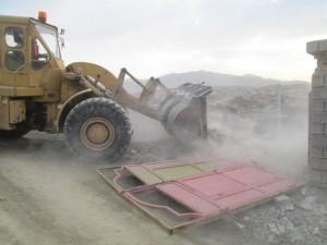 آزادسازی ٢۶ هکتار از اراضی ملی روستای مهرآباد رودهن+تصاویر