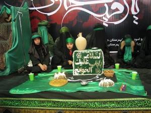 همایش سه سالگان حسینی در محله درویش دماوند برگزار شد+تصاویر