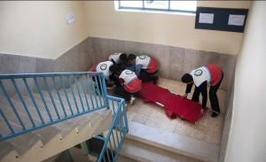 مانور سراسری زلزله و ایمنی در ۹۷ مدرسه دماوند برگزار شد/ آسیبپذیر بودن ۳۰ مدرسه دماوند در برابر زلزله + تصاویر
