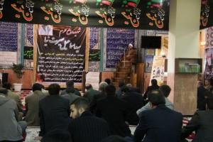 مراسم بزرگداشت دانشجوی مدافع حرم در رودهن برگزار شد