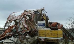 تخریب ۹ فقره ساخت و ساز غیرمجاز در روستاهای جابان، سربندان و سرخده+تصاویر
