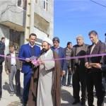 بهرهبرداری از ساختمان اداری دهیاری و بهسازی خیابان نیکونژاد روستای وادان+تصاویر